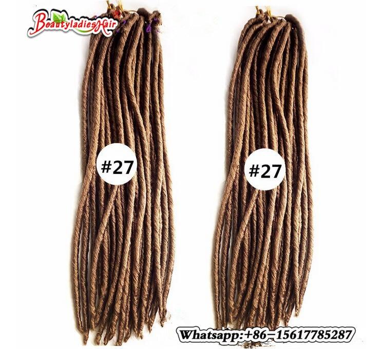 Eunice Αβάνα Mambo Faux Locs Συνθετική πλεξούδα - Συνθετικά μαλλιά - Φωτογραφία 1