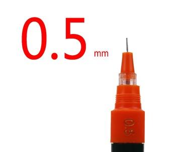 HERO10 sztuk 0 5mm akumulator długopisy igły pióro do rysowania pióro techniczne 81A # tanie i dobre opinie Pojedyncze other Wielokrotnego napełniania Promocyjne pióra