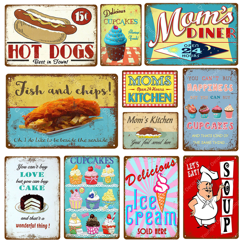 Top 10 Largest Retro Sign Kitchen List And Get Free Shipping