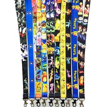 Шнурок на шею с карабином Покемоны