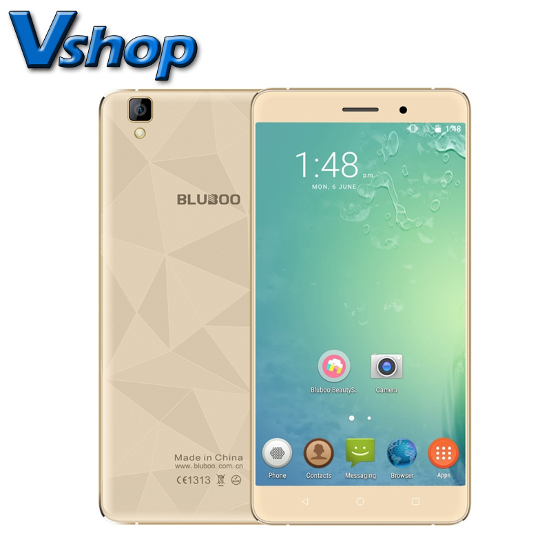 BLUBOO Maya 3G Mobile Phone Android 6 0 2GB RAM 16GB ROM MTK6580A Quad Core 720P