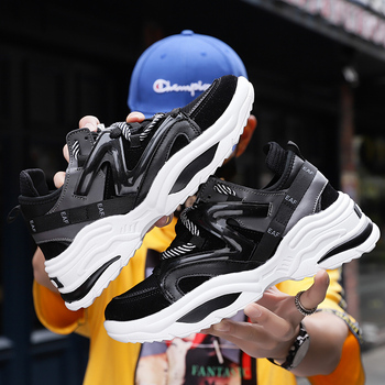 2019 Harajuku Autumn Vintage Sneakers Men Breathable Mesh Casual Shoes Men Comfortable Fashion Tenis Masculino Adulto Sneakers 2