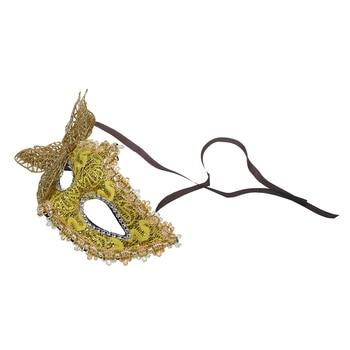 Sexy Women Lace Mask Venetian Masquerade Ball Party  Carnival Face, Eye (green) 5