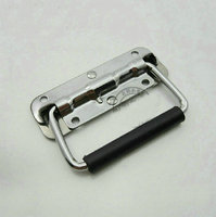 2 Pieces 110 X 40mm Spring Loaded Hardware Puller Boxes Door Chest Handles
