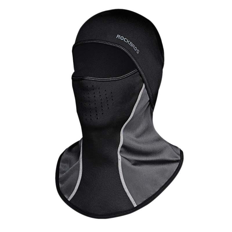 Rockbros téli kerékpáros sapka szélálló hővédő maszk balaclava bandana sport sípálya kerékpár kerék nyak kalap fej sál férfi