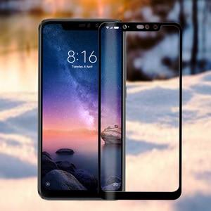 Image 2 - Nicotd Kính Cường Lực Cho Xiaomi Redmi Note 6 Pro 4X 4A 5A 5 Plus Bảo Vệ Màn Hình Trong Cho Redmi 6A 6 lưu Ý 5A 5 Pro Bao Bọc Toàn Bộ Phim