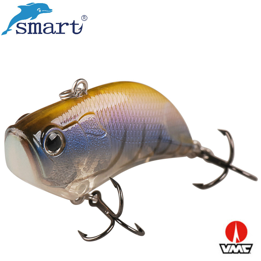 Smart Sinking Vibration Fishing Lure 7cm 20.2g Plastic Hard Bait VIB Isca Artificial Pike Bait Wobbler Winter Ice Fishing Tackle hengjia 1pc abs plastic crank bait fishing lure 7 5cm 11 5g hard baits fishing tackle lifelike leurre peche swimbait pike lure