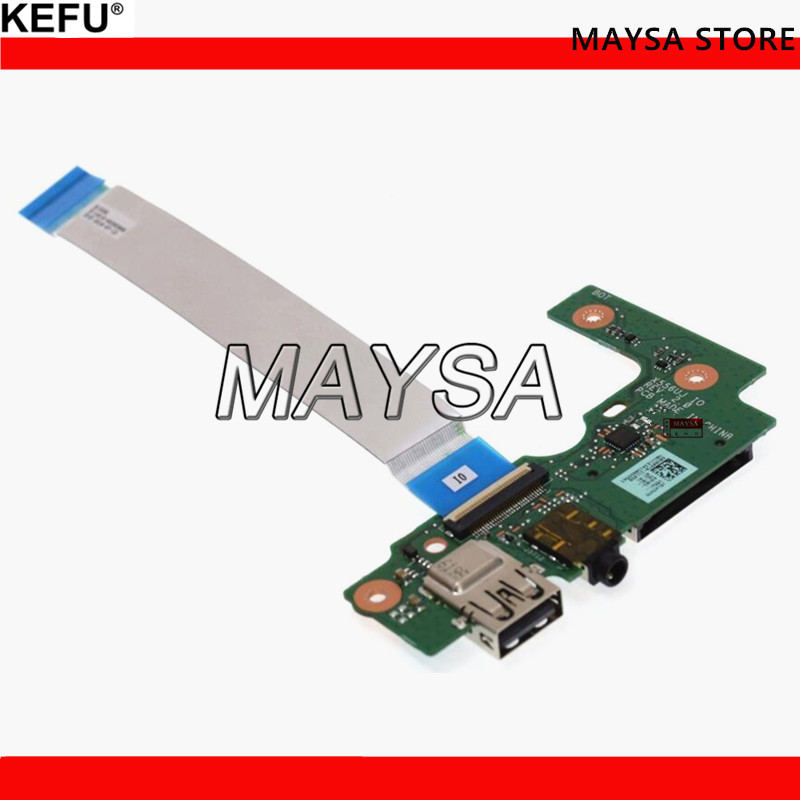KEFU For ASUS X556U X556UJ X556UJQ X556UB X556UA X555UV USB Board IO Board WORKS for asus k52 x52j a52j k52j k52jr k52jt k52jb k52ju k52je k52d x52d a52d k52dy k52de k52dr audio usb io board interface board