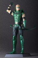Sıcak Satış Çılgın Oyuncaklar Heykelcik Green Arrow Oliver Kraliçe DC Comic Justice League Süper Kahraman Action Figure