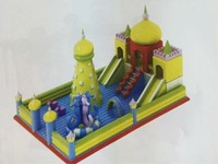 Giant Inflatable Playground Games Inflatable Fun City for Kids