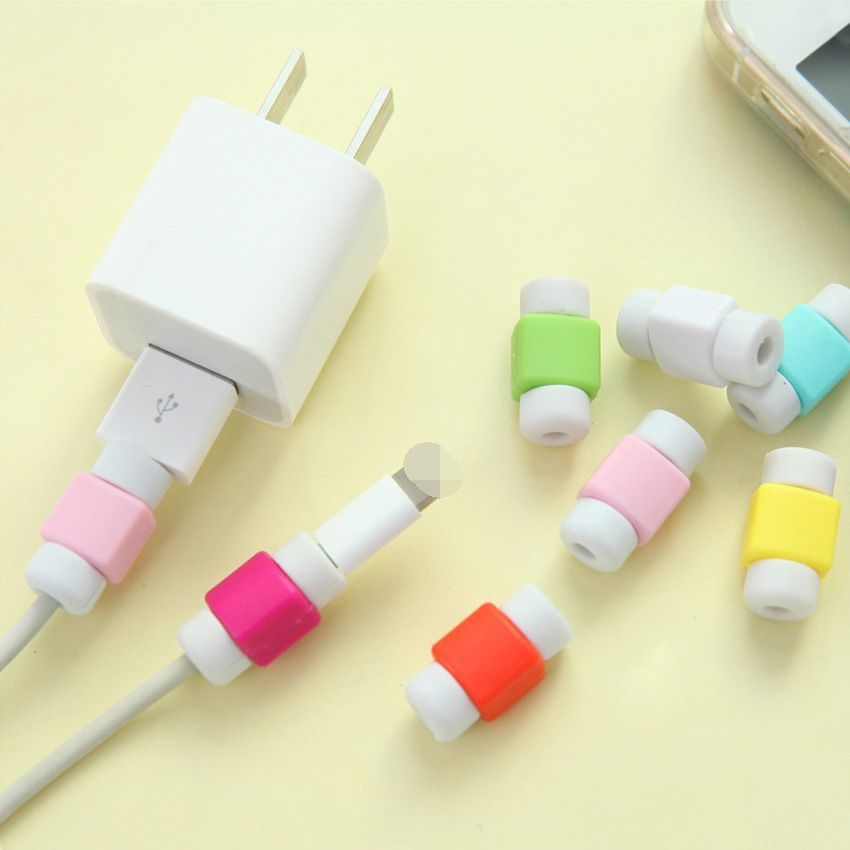 USB Data Cable Line Protector Phone Case Anti Breaking Protective Sleeve For Charging Cable for iPhone