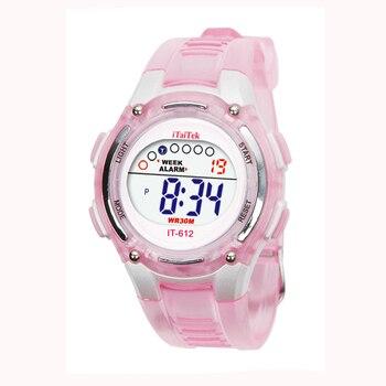 #5001Children Boys Girls Swimming Sports Digital Waterproof Wrist Watch New relogio reloj Arrival Freeshipping Hot Sales - discount item  21% OFF Children's Watches