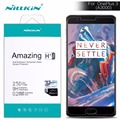 """for oneplus 3 three nillkin 5.5"""" oneplus 3 tempered glass HD Ultra Thin 2.5D Arc 9H Protective Coverage Film Screen Protector"""