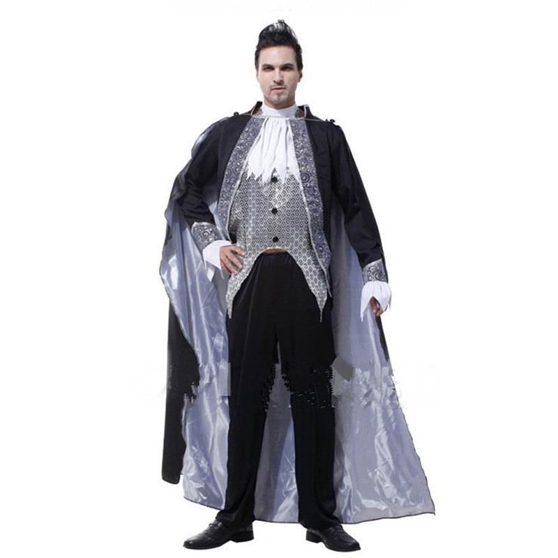 New Cosplay Versailles Vampire Halloween Gothic Victorian vampire costume vampire Count