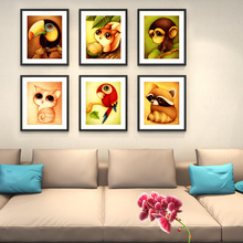 DIY 5D cat animal diamond painting squirrel fox embroidery with mosaic bird monkey picture by rhinestones crafts gift