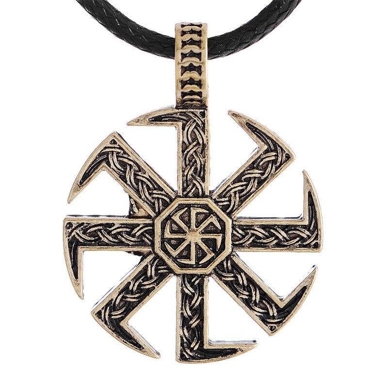 Aliexpress.com : Buy Slavic Kolovrat Pendant Amulet Slavic ...