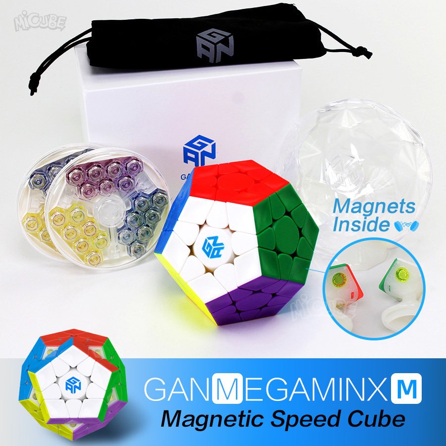 GAN Cube Magnetic Megaminxeds Magic Cube Speed Puzzle Professional Dodecahedron Cubo Magico Professional Toys For Children