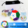 Кубик Гань Магнитный Megaminxeds волшебный куб головоломка на скорость Профессиональный Dodecahedron Cubo Magico профессиональные игрушки для детей