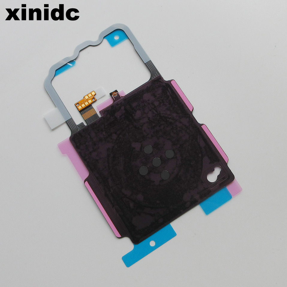 Xinidc 100% New 30pcs Wireless Charger <font><b>NFC</b></font> Antenna Sticker Flex Cable Replacement For Samsung Galaxy <font><b>S8</b></font> Plus G955 AAA Quality image
