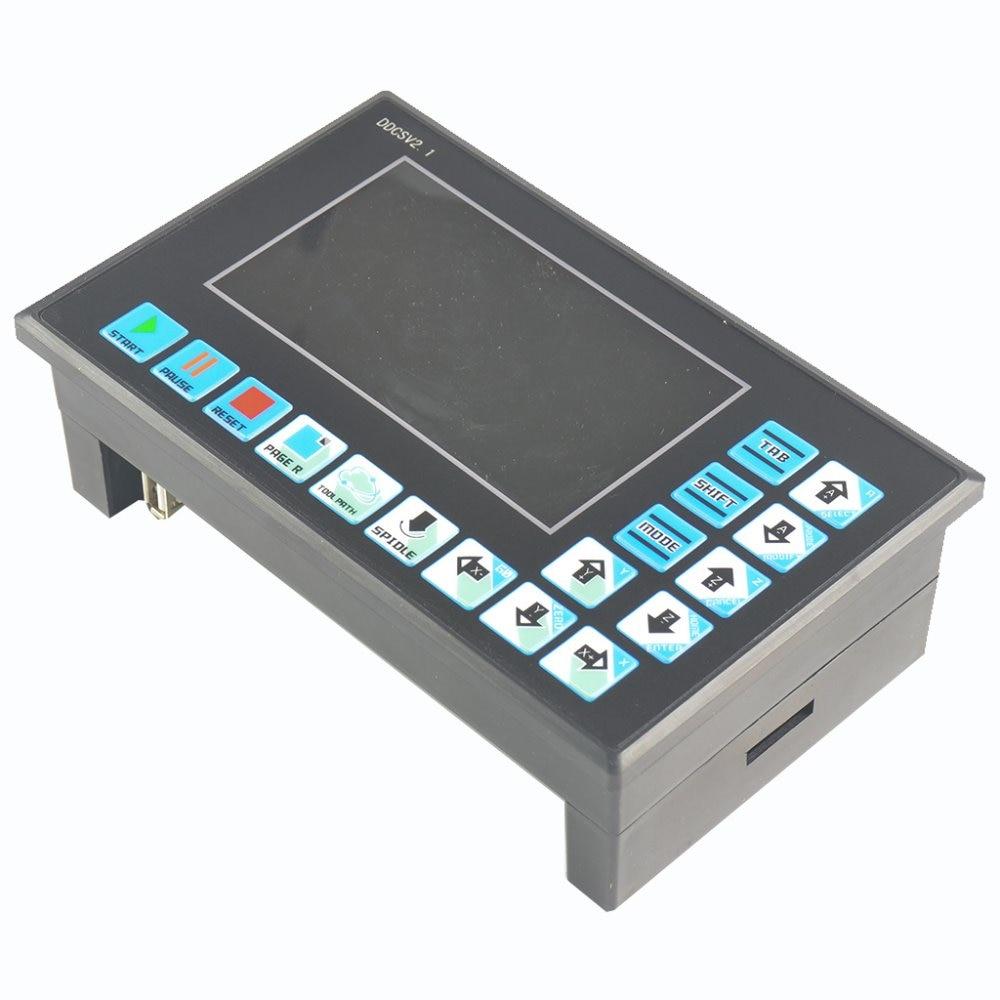DDCSV2/4 eixos 4 linkage motion controller/controlador de motor de passo e servo motor/NC/máquina de gravura/CNC offline