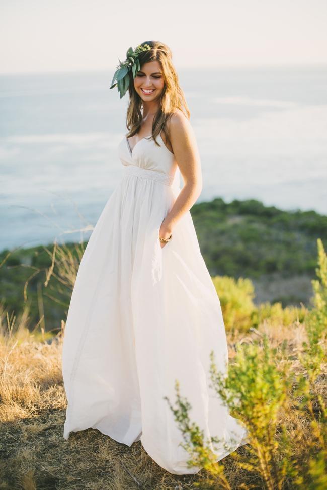 2016 Ivory White Pregnent Beach Wedding Dresses Vintage Plus Size ...