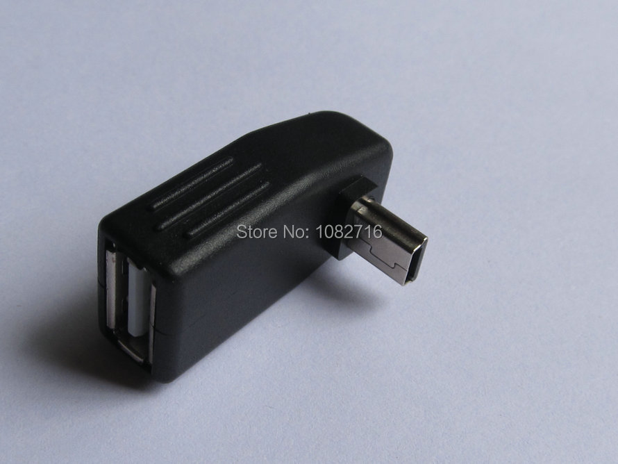 2 pcs lot usb 20 a female connector to mini b male 5 pins 180 2 pcs lot usb 20 a female connector to mini b male 5 pins 180 degree down angle adapter plug free shipping in connectors from home improvement on sciox Image collections