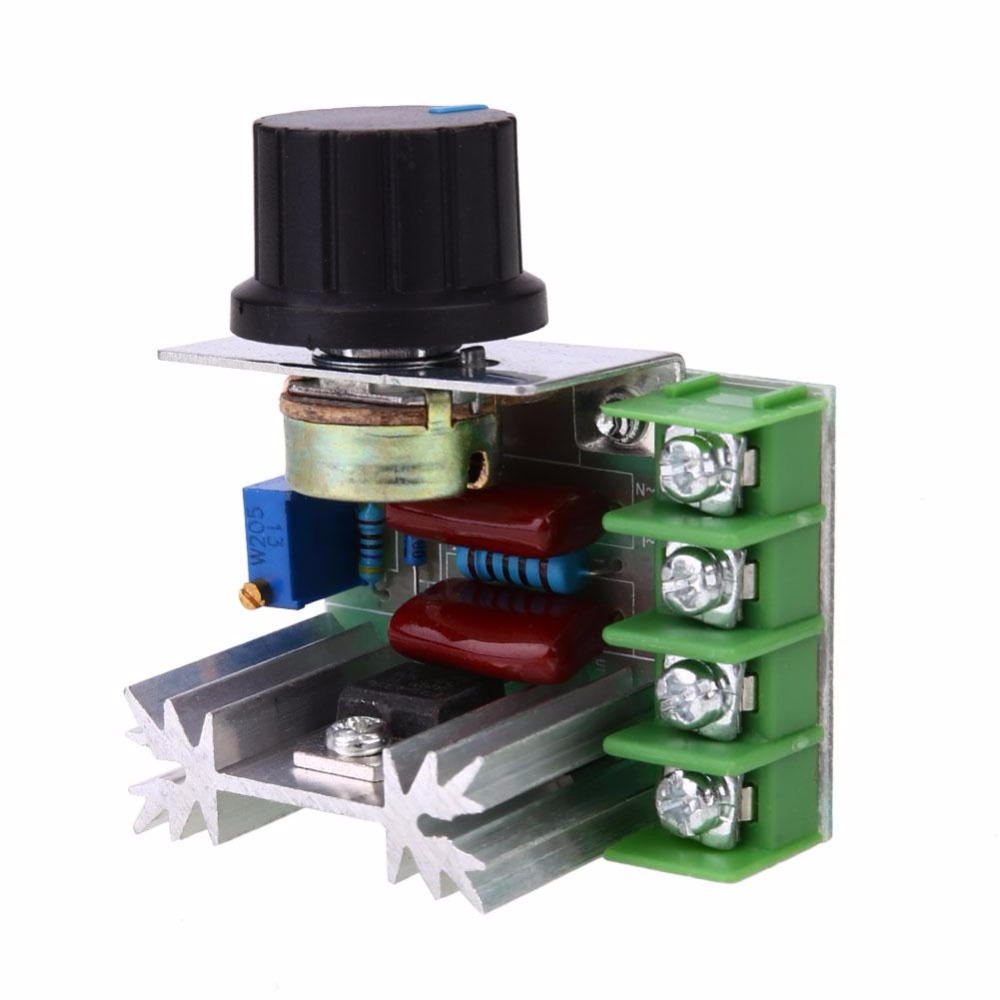 Gasky 2000W 220V SCR Electronic Voltage Adjuster Modules Module Power Supply Professional Development Board DIY Accessories Tool