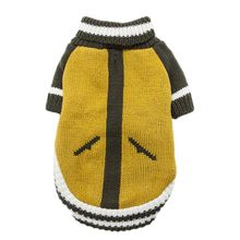 2019 Warm Dog Sweaters Classic color matching Sweater Turtle Neck Pet Jumper Coat  for Small Medium Dogs Pug French Bulldog цена 2017