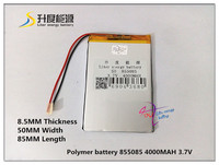 Size 855085 3 7V 4000mah Lithium Polymer Battery For IPad 3 Tablet PCs PDA Diital Products