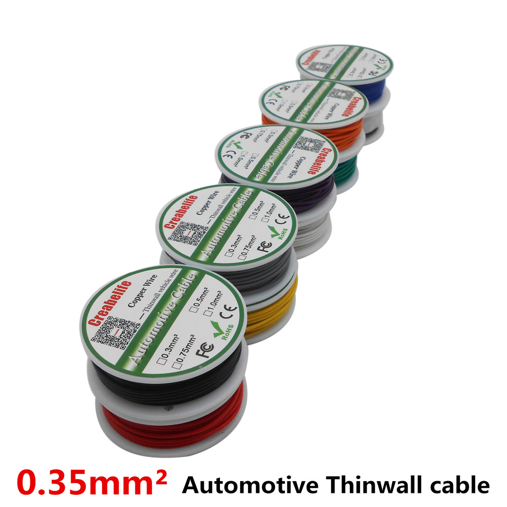 Flexible Stranded Of 16 AWG 5M 16.4 FT10 Colors UL 1007 Diameter 2.4 ...