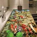 3D Oceano Peixes Tapete Do Mundo Animal Impresso Antiderrapante Corte Bar Hall de Entrada Sala de estar Capacho da porta de Casa Tapetes de Chão Da Cozinha Tapete
