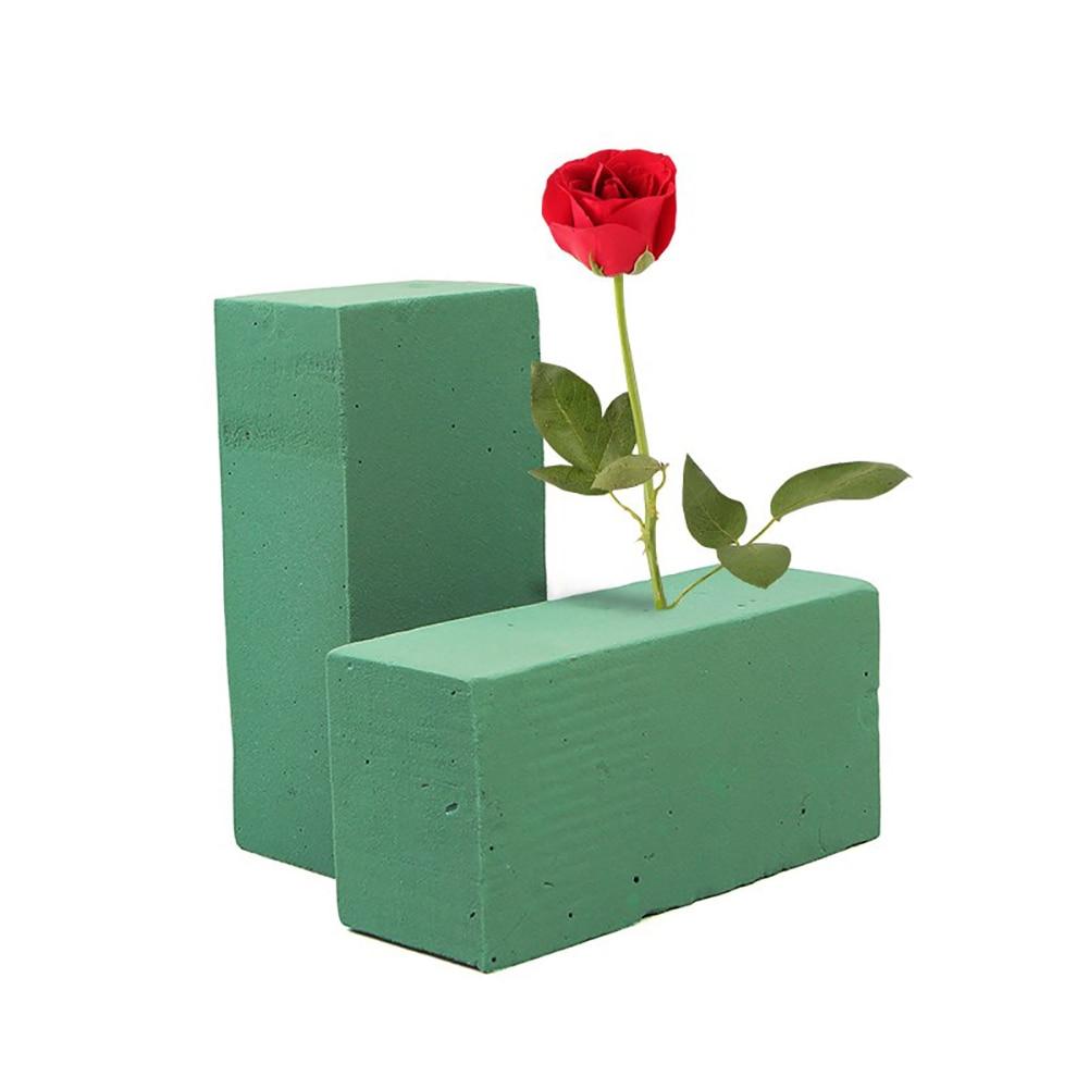 Porte-fleurs en mousse 1 pièce | En brique, pour fleur fraîche, fleuriste de mariage, arrangement de fleur, Design bricolage artisanat fournitures de jardin