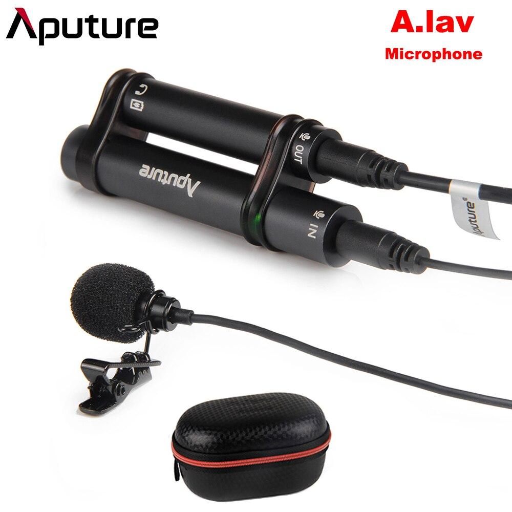 Aputure A. lav Lavalier всенаправленный конденсаторный микрофон для мобильного телефона Pad и другое рекордерное оборудование для записи
