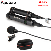 Aputure A.lav Lavalier Omnidirectional Condenser Microphone for Mobile Phone Pad and other Recorder Equipments for Recording