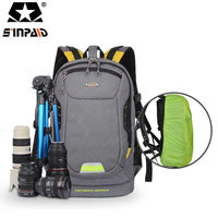 Water Resistant DSLR Backpack Camera Video Bag Shockproof Photography Padded F Nikon Canon Sony DSLR Camera