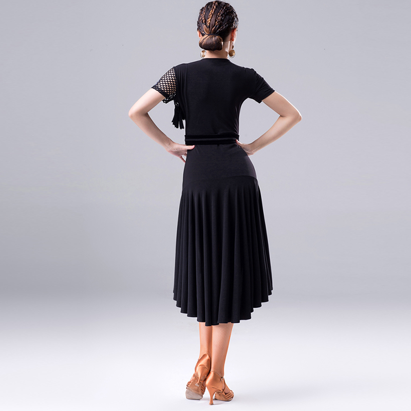 2018 New Fashion Latin Dance Dress For Women/Lady International Standard Ballroom Cha Cha Salsa Dancing Latina Dresses DL2558