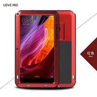 New 6 4 Inch Xiaomi Mi Mix Case Capa LOVE MEI Waterproof Shockproof Dirtproof Aluminum Metal