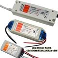 LED Power Supply 12V 18W  72W 100W  Switching 220V to DC 12V Lighting Transformers for led strip led lightings