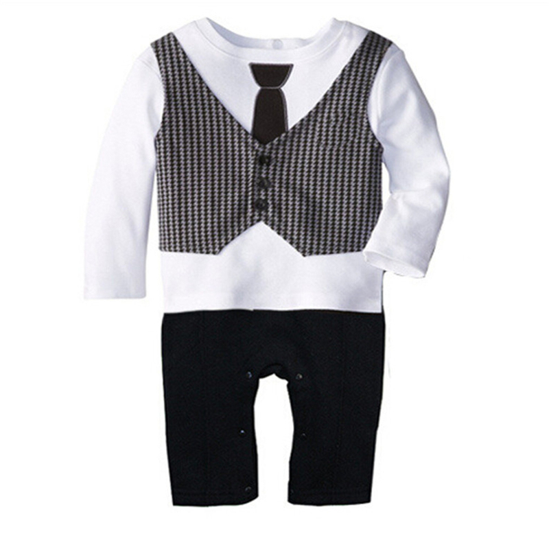 Baby Boy Clothes 2017 Spring Baby   Rompers   Cotton Newborn Baby Clothes Autumn Baby Boy Clothing Sets Roupas Bebe kids clothes