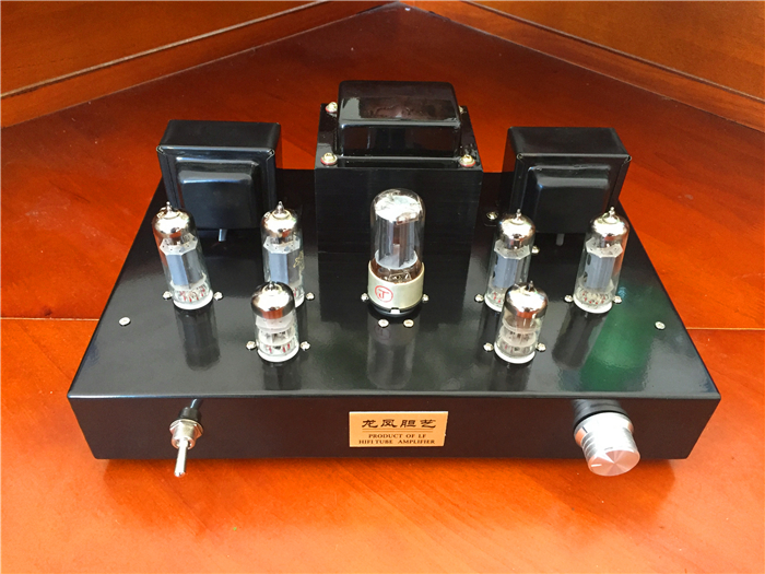 Finished 6N2+6P1+5Z4PA Vacuum Tube Amplifier Stereo Class A push-pull Amp New finished 6n2 push 6p1 double 6z4 tube amplifier tube rectifier amplifier