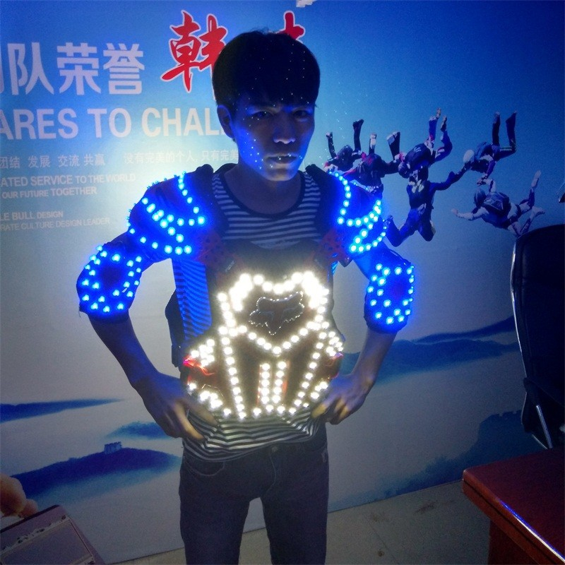 LED armor costumes 015