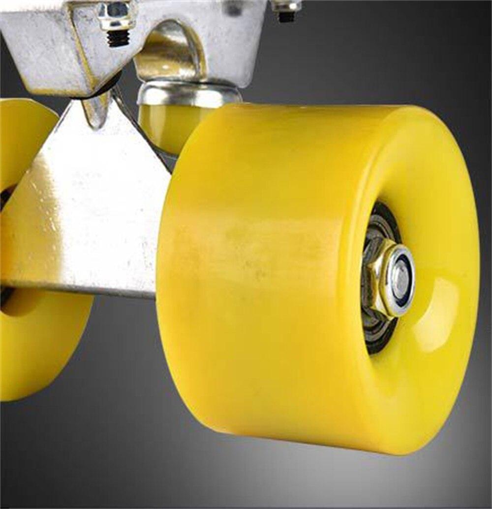 SPORTSHUB 56*9.5*13.5 CM extérieur Amateur PP planche à roulettes pour enfants avec roues en polyuréthane et Support en alliage d'aluminium planche à roulettes pour enfants CS0004 - 4