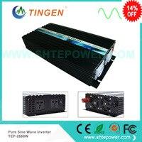 2500W 12/24/48VDC to 110/220/230/240VAC Digital power inverter Pure Sine wave Inverter,50Hz Or 60Hz Off Grid Tie