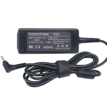 Ноутбук с адаптером переменного тока зарядное устройство 19 в 2.1A 40 Вт для ASUS Eee PC 1005HA шнур питания 2,3 мм * 0,7 мм