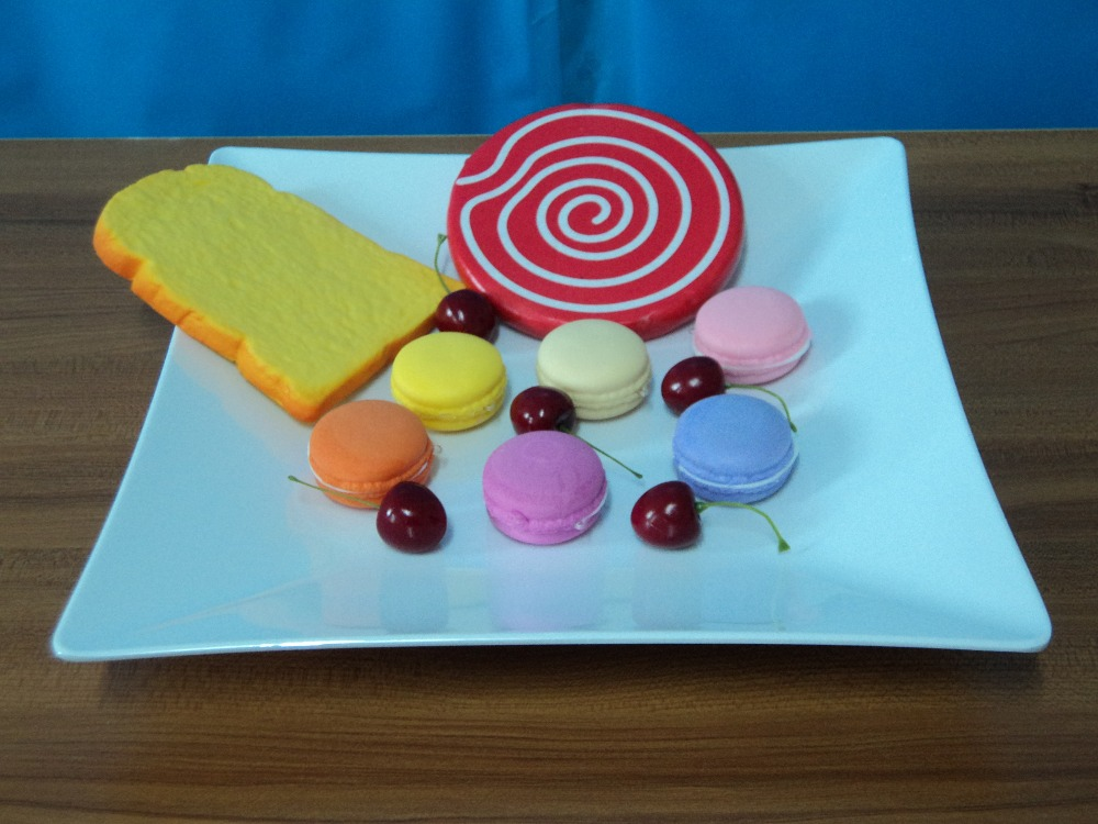 a5 melamine dinner plate imitation porcelain dinnerware 13 inch square plate household tableware fruits vegetables flat plate - Square Dinner Plates