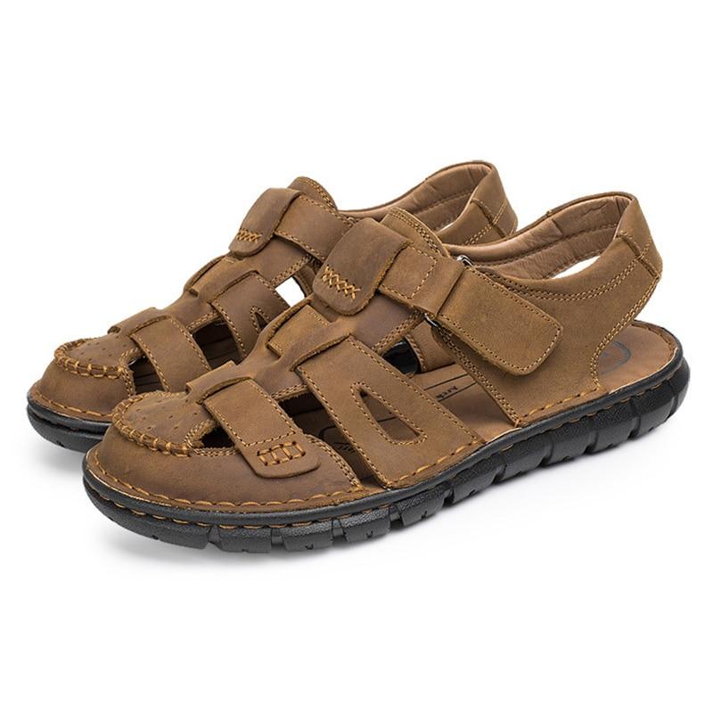 Schuhe Handarbeit 1 Aus Männlichen Retro Komfortable Männer Für 2 gfy7Yb6v