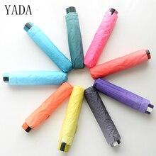 YADA Creativity Gradient Candy Color Umbrella Rain Women High Quality Car For Womens Windproof Folding Umbrellas YS019