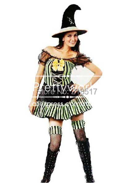 Wholesale Halloween costumes for Adult Women witch costume ...