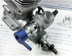 ASP 52HR Two Stock S52H 8.47CC Nitro Engine for RC Helicopter (with Muffler for optional)