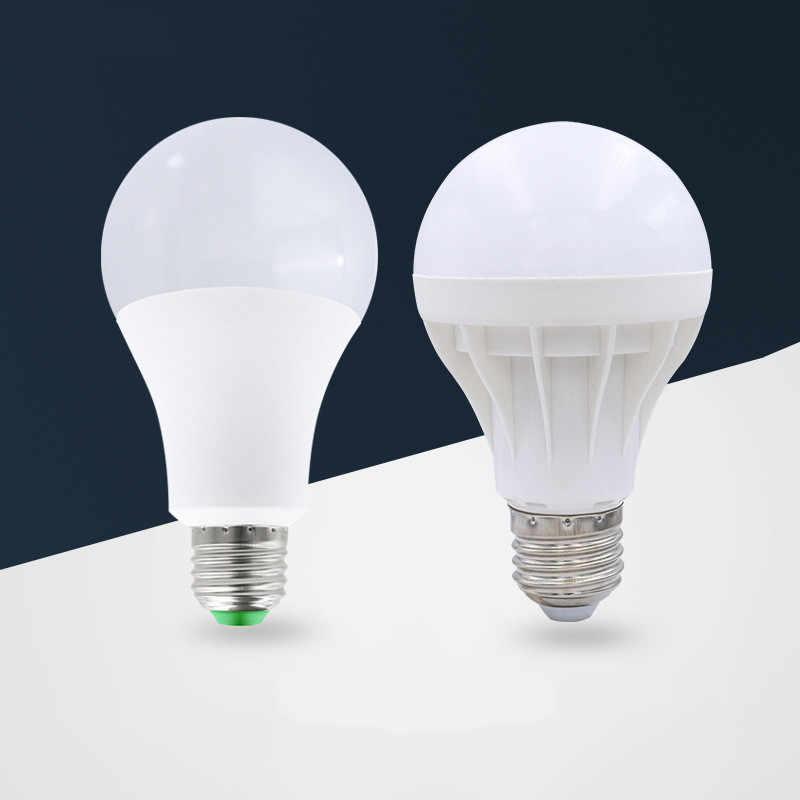 Светодиодный лампы E27 E14 220 V осветительная Смарт лампочки IC настоящая Мощность 5 Вт, 9 Вт, 12 Вт, 15 Вт, 18 Вт, 20 Вт, 25 Вт лампа высокой яркости светодиодный Bombilla LED прожектор